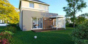 Écoconstruction Quelle surface de terrain pour une maison de 100m2 ?